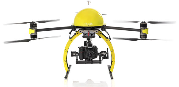 UAV used for Aerial Surveying and Imaging